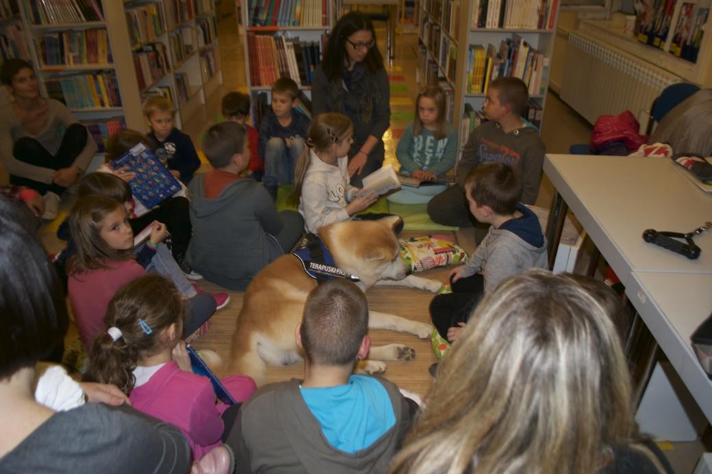DK Pula/Children's Library Pula - dječji čitalački klub Hvatača slova UPTIV 2015/2016